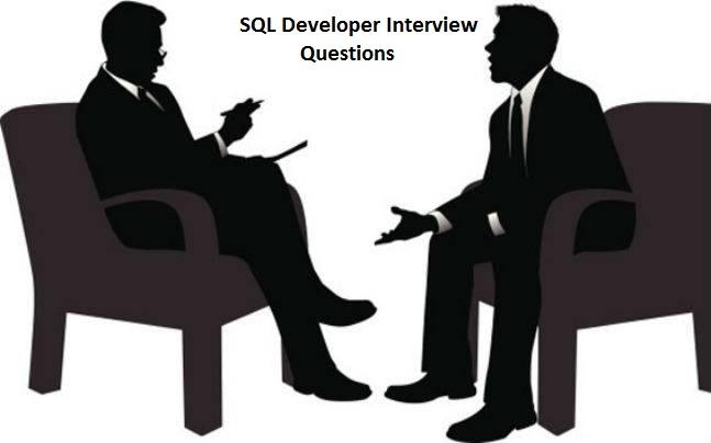 SQL Developer Interview Questions