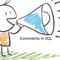 SQL Comments